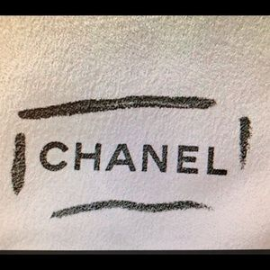 Chanel White Cleaning Polish Cloth